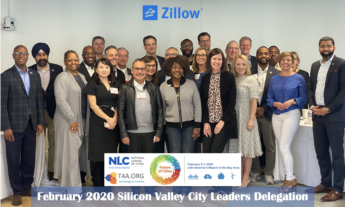 NLC T4A City Delegation at Zillow (2020 February)